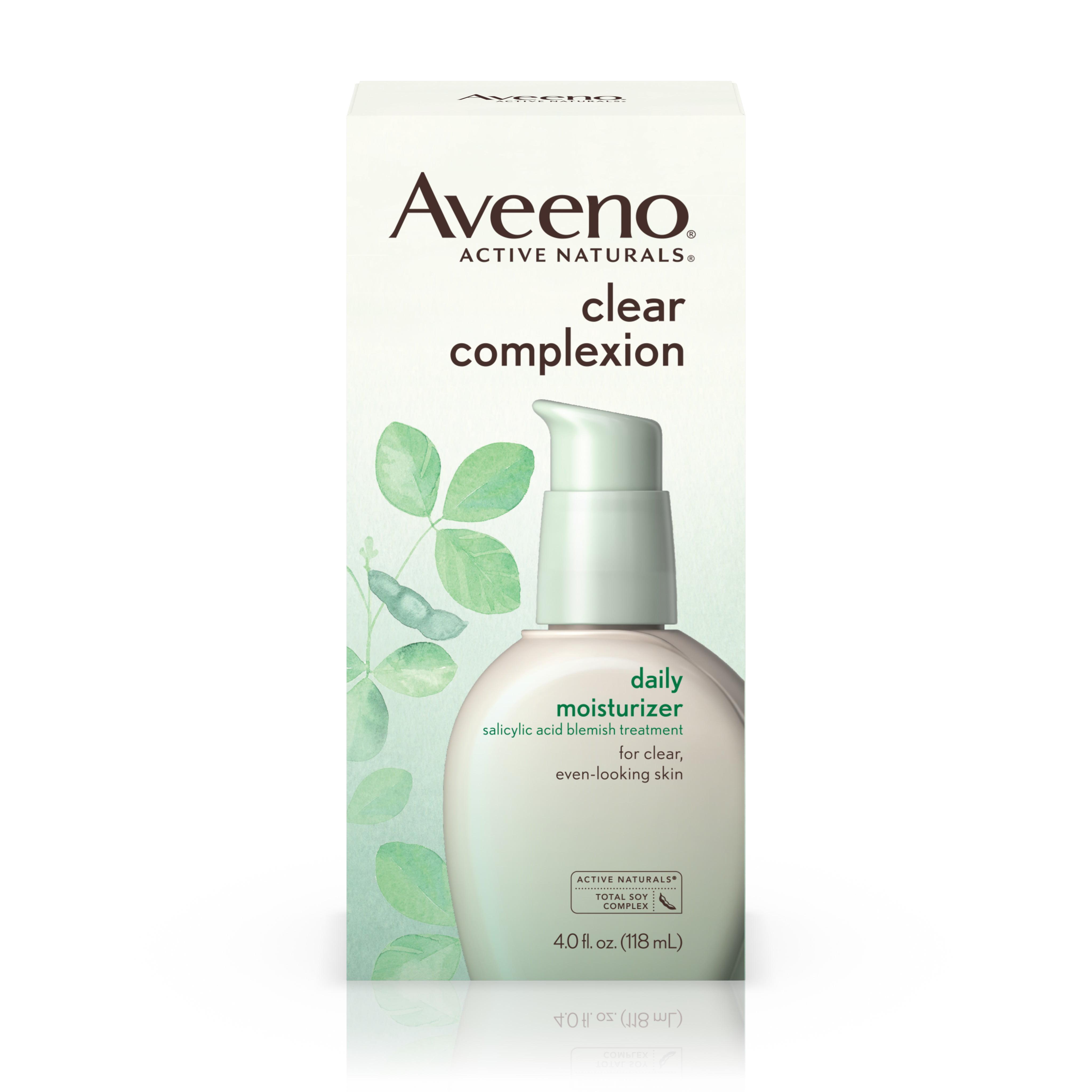 Aveeno Clear Complexion Blemish Treatment Daily Moisturizer, 4 Oz - Walmart.com