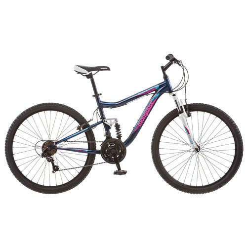 Mongoose Women's Status 2.2 26'' Full Suspension Bike