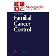 Familial Cancer Control - eBook