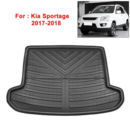 Rear Floor Mats Liners Jeep (Rear Trunk Liner Cargo Mat Floor Tray for Jeep Grand Cherokee 13-17 )