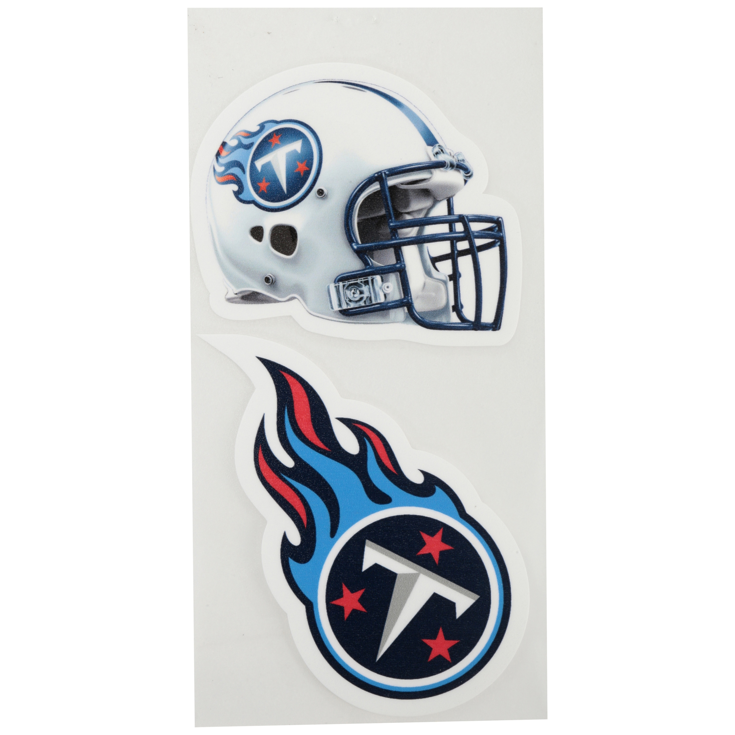 Tennessee Titans Licensed Decal 12 x 9-1 Decal Only