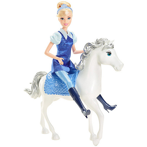Disney Princess Cinderella Doll and Horse by Mattel