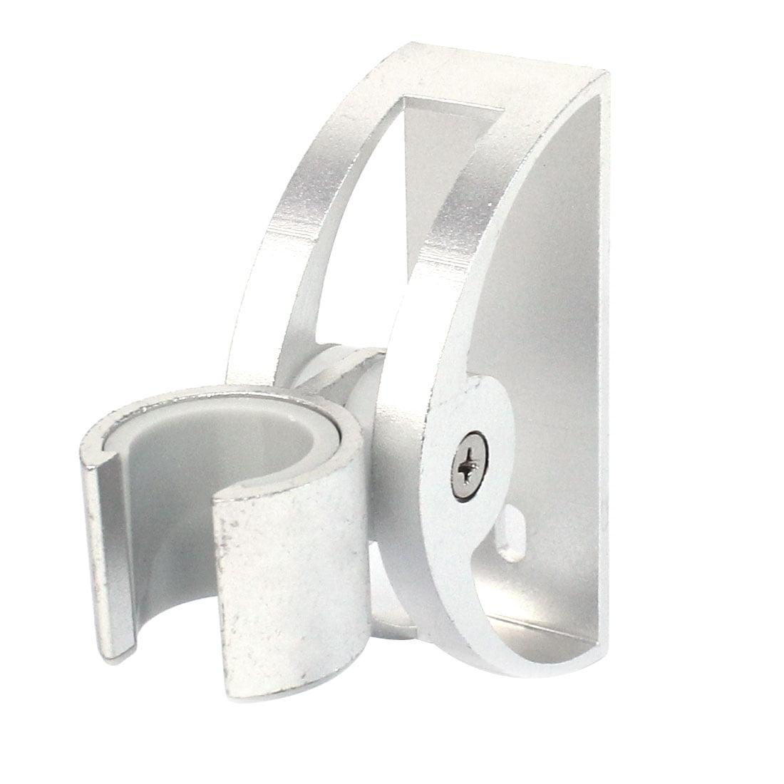 Bathroom 20mm Dia Handle Adjustable Aluminum Shower Head Holder