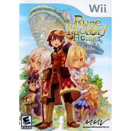 Rune Factory  Frontier   Nintendo Wii