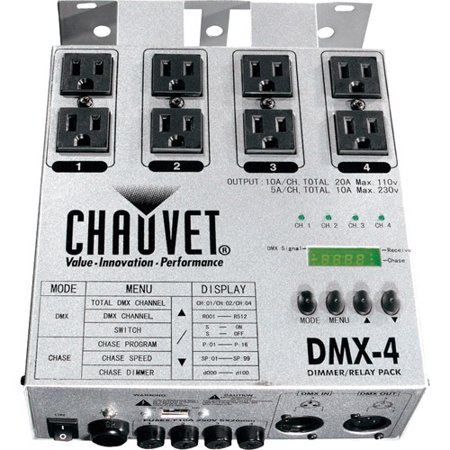 Chauvet 4-Channel Dimmer/Relay Pack