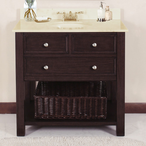 Lanza Camber 36u0027u0027 Single Bathroom Vanity Set