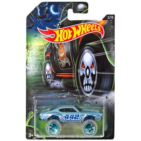 Hot Wheels Happy Halloween! Olds 442 W-30 Die-Cast Car](Halloween Car)