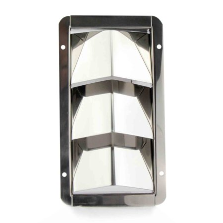 Five Oceans Stainless Louvered Vent, 3- Slots FO-1424 (Three 1/2 Vents)