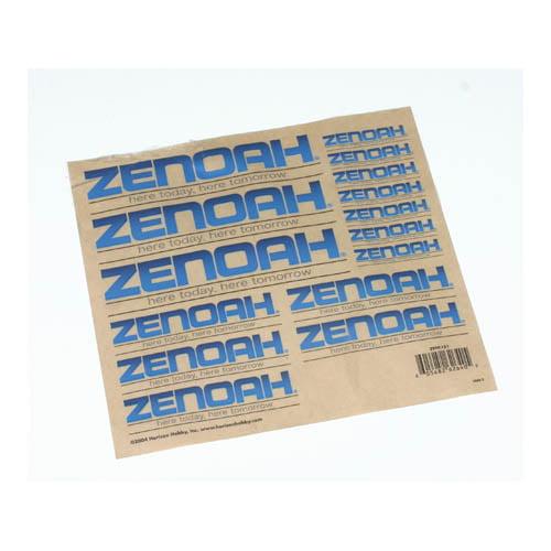 Zenoah Decal Sheet Multi-Colored