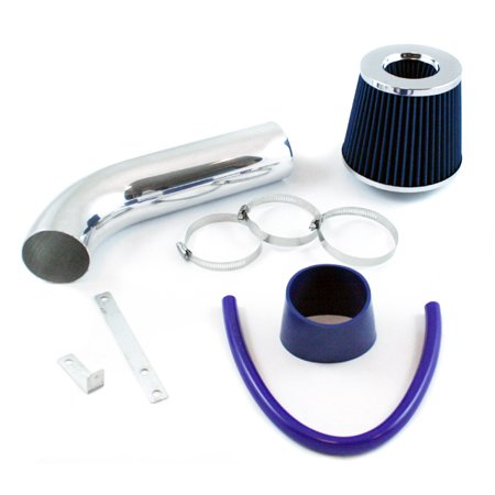 - RL Concepts Blue Short Ram Air Intake Kit + Filter 97-03 Dodge Durango Dakota 3.2L & 3.9L & 5.2L & 5.9L