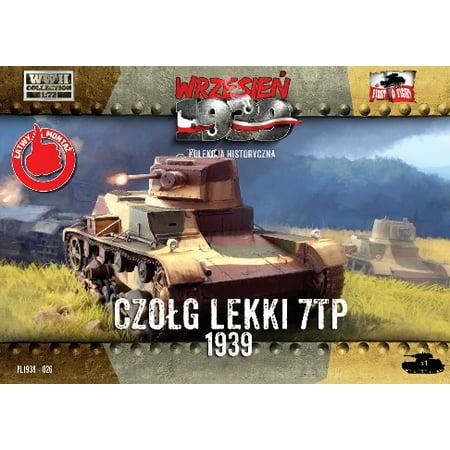 1/72 WWII 7TP Polish Light Tank w/Single Turret - image 1 de 1