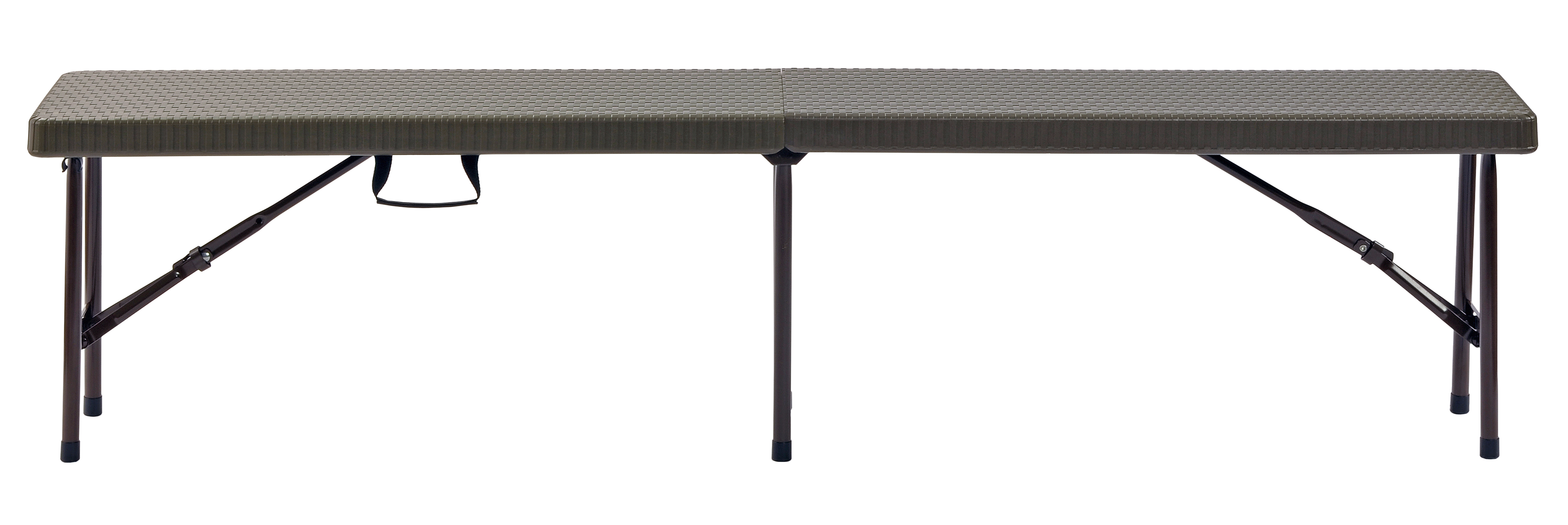 Exceptionnel Sandusky Folding Portable Plastic Indoor/Outdoor Picnic Bench, Brown