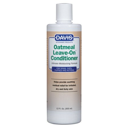 Leave On Oatmeal Pet Conditioner Concentrate Dog Cat Soothing Moisturize Relief (12 oz)