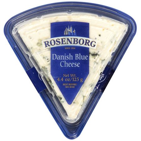 Walmart Credit Card Review >> Rosenborg Danish Blue Cheese, 4.4 oz - Walmart.com