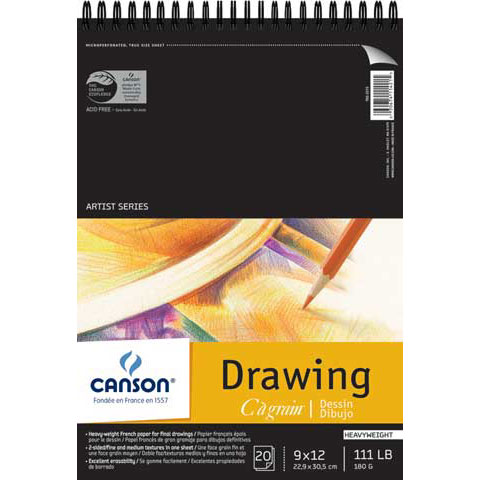 "Canson - Artist Series C A Grain Drawing Pad - 11"" x 14"""