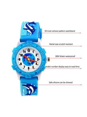 Cartoon Football Basketball Watch Kids Tennis Racket Fashion Children Watch For Girls Boys Students Clock Quartz Wrist Watches Fancy Colours Watches
