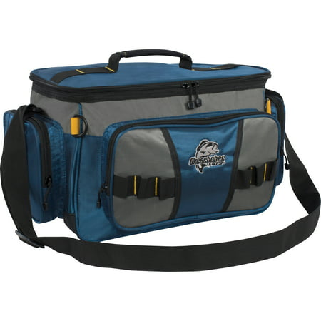 Okeechobee Fats Large Soft-Sided Tackle Bag with 2 Large Utility Lure Box Storage Containers,