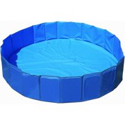 [63 INCH] Foldable/Portable [Collapsible]  Dog Swimming Pool