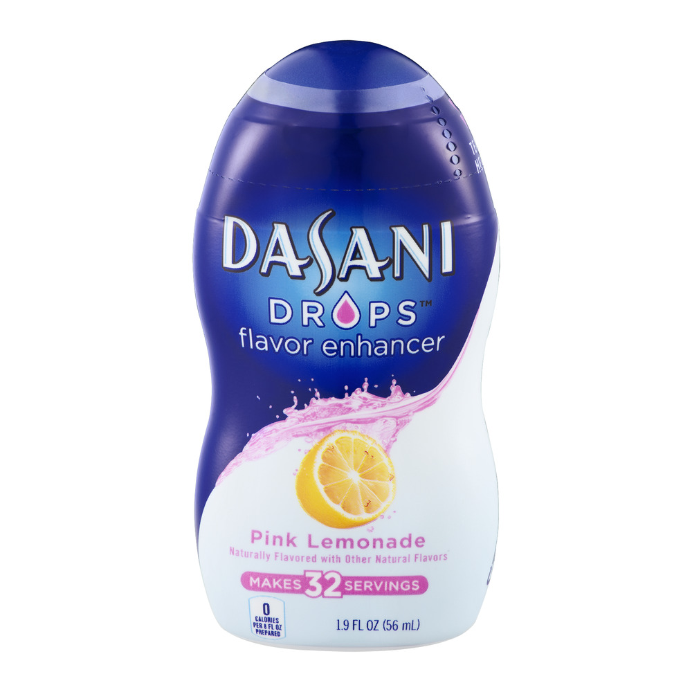 Dasani Flavor Enhancer Drops Pink Lemonade - 32 Servings, 1.9 FL OZ