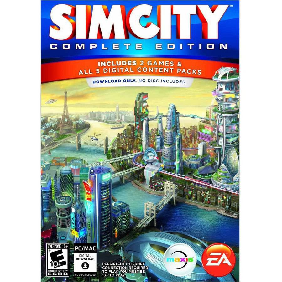 Electronic Arts SimCity Complete Edition (Digital Code)