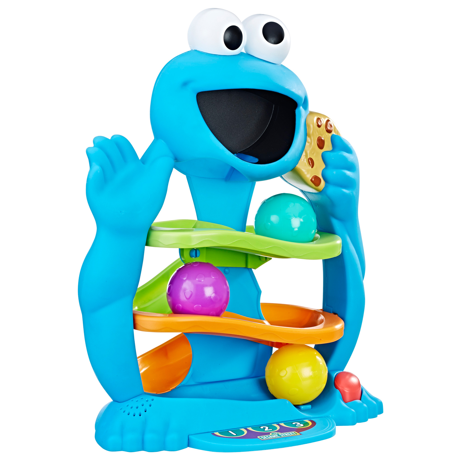 Playskool Friends Sesame Street Cookie Monster's Drop & Roll by Hasbro