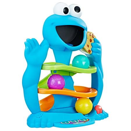 Playskool Friends Sesame Street Cookie Monster's Drop & Roll - Sesame Street Cookies