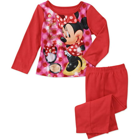Baby Girls' Traditional Character 2-Piece Pajama Set
