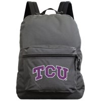 TCU Horned Frogs 16'' Made in the USA Premium Backpack - Gray