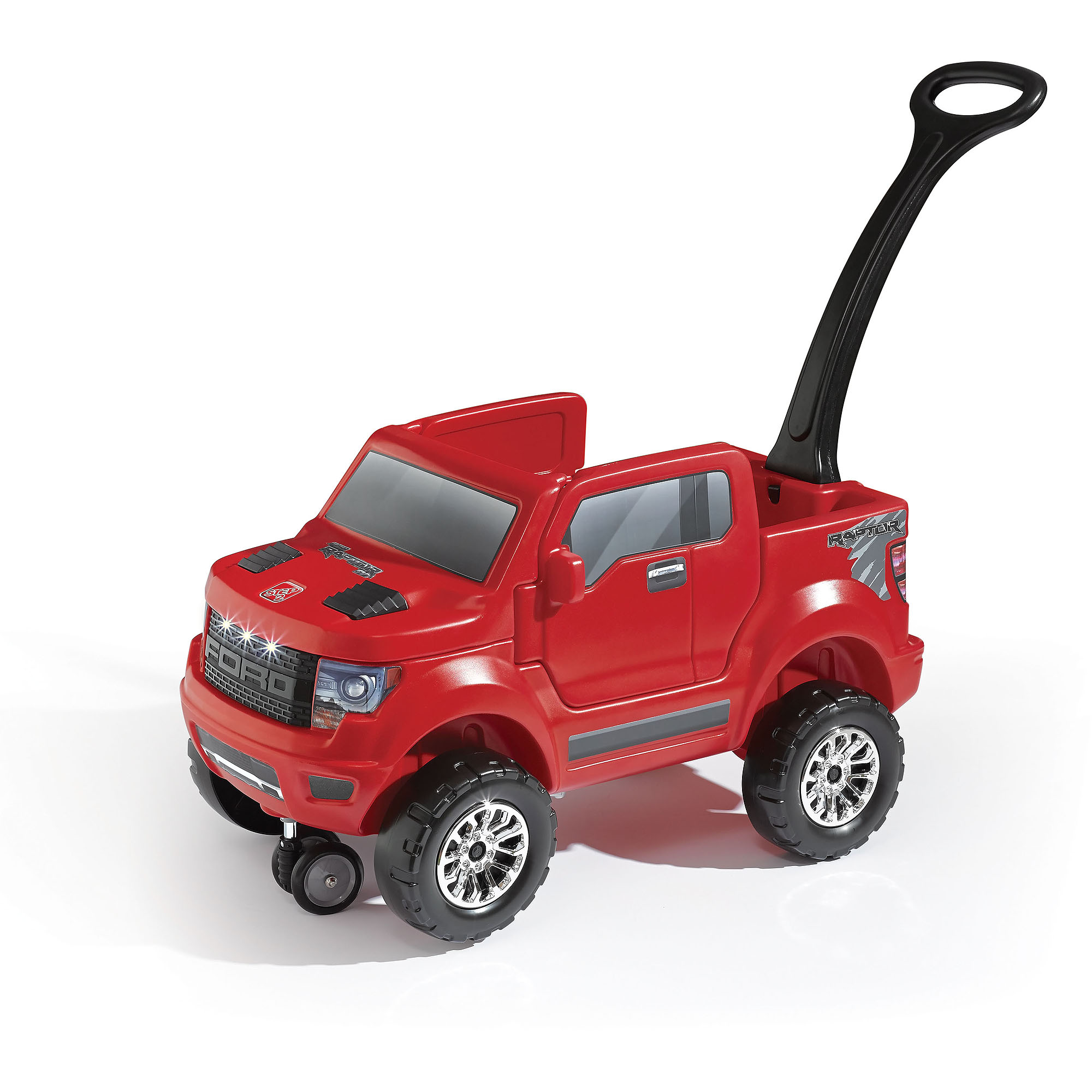 Step2 Ford F 150 Raptor 2 In1 Ride On Red Walmart Com