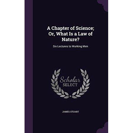 Un chapitre de la science; Ou, Qu'est-ce qu'une loi de la nature ?: Six conférences à Prolétaires
