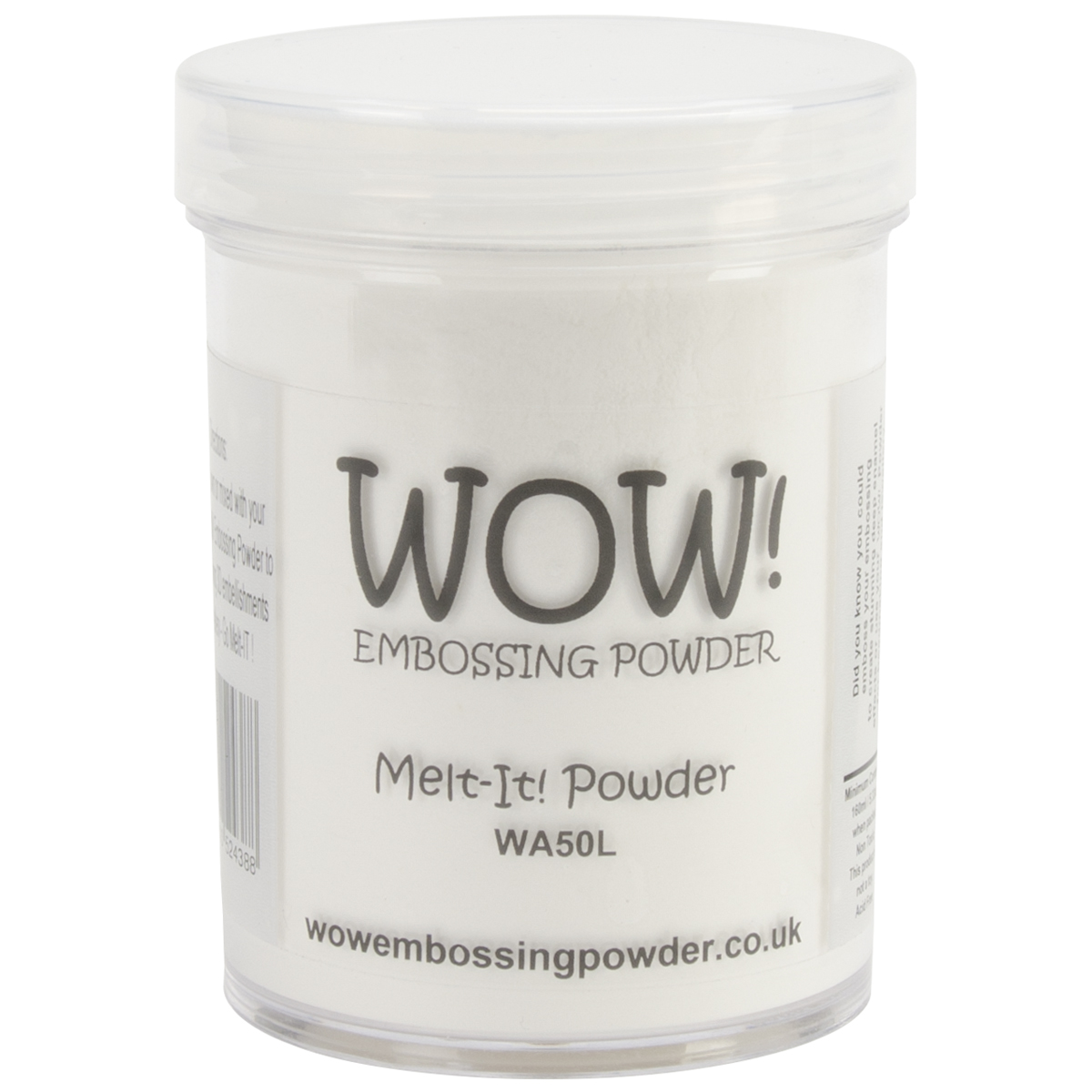 WOW! Embossing Powder Large Jar 160ml-Melt-It
