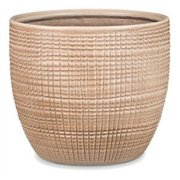 Scheurich USA 256525 4.25 x 4.75 in. Ceramic Indoor Planter, Canela Brown - Pack of 6