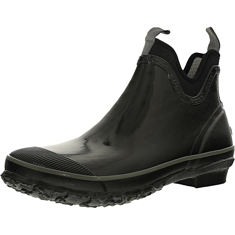 Bogs Women's Harper Rubber Black Ankle-High Rubber Rain Boot 7M by Bogs