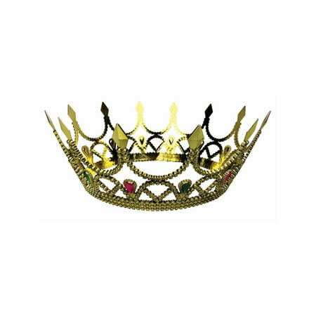 Halloween Royal Queen Crown - Gold