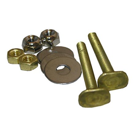 04-3637 0.25 in. Code Brass Toilet Closet Bolt Set