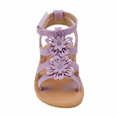 Petalia O-P81992SPURP10 Girls Sandals, Puple - Size 10 - image 1 de 1