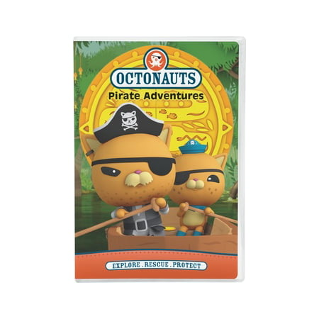 Octonauts: Pirate Adventures (DVD) - Octonauts Characters Tweak
