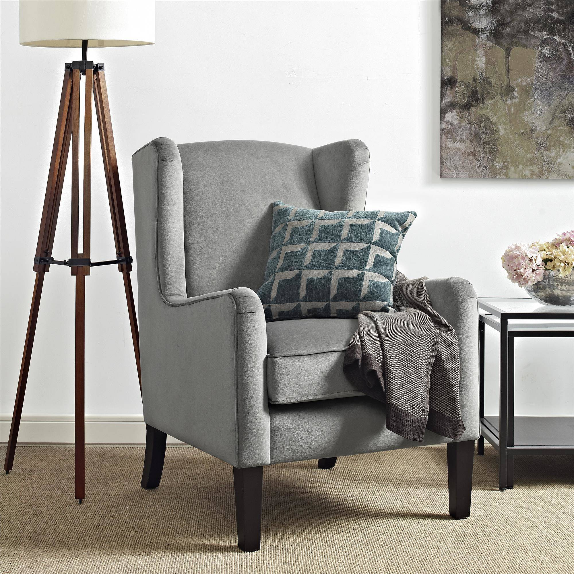 Sofa Mart Accent Chairs: Dorel Living Rossland Wingback Accent Chair