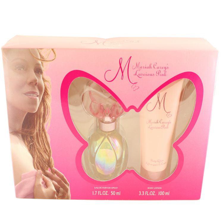 Mariah Carey Luscious Pink Set for Women, 2 pc