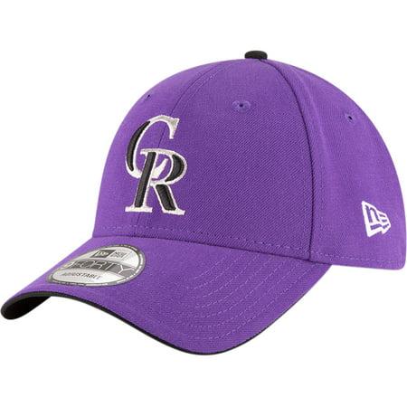 Colorado Rockies Hat (Colorado Rockies New Era Alternate 2 The League 9FORTY Adjustable Hat - Purple -)