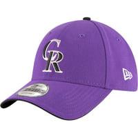 Product Image Colorado Rockies New Era Alternate 2 The League 9FORTY Adjustable  Hat - Purple - OSFA 4a792c41d0de