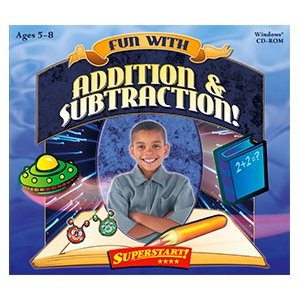 Selectsoft LPFUNADSUJ Selectsoft Fun with Addition & Subtraction! - Educational Game Jewel Case Retail - PC