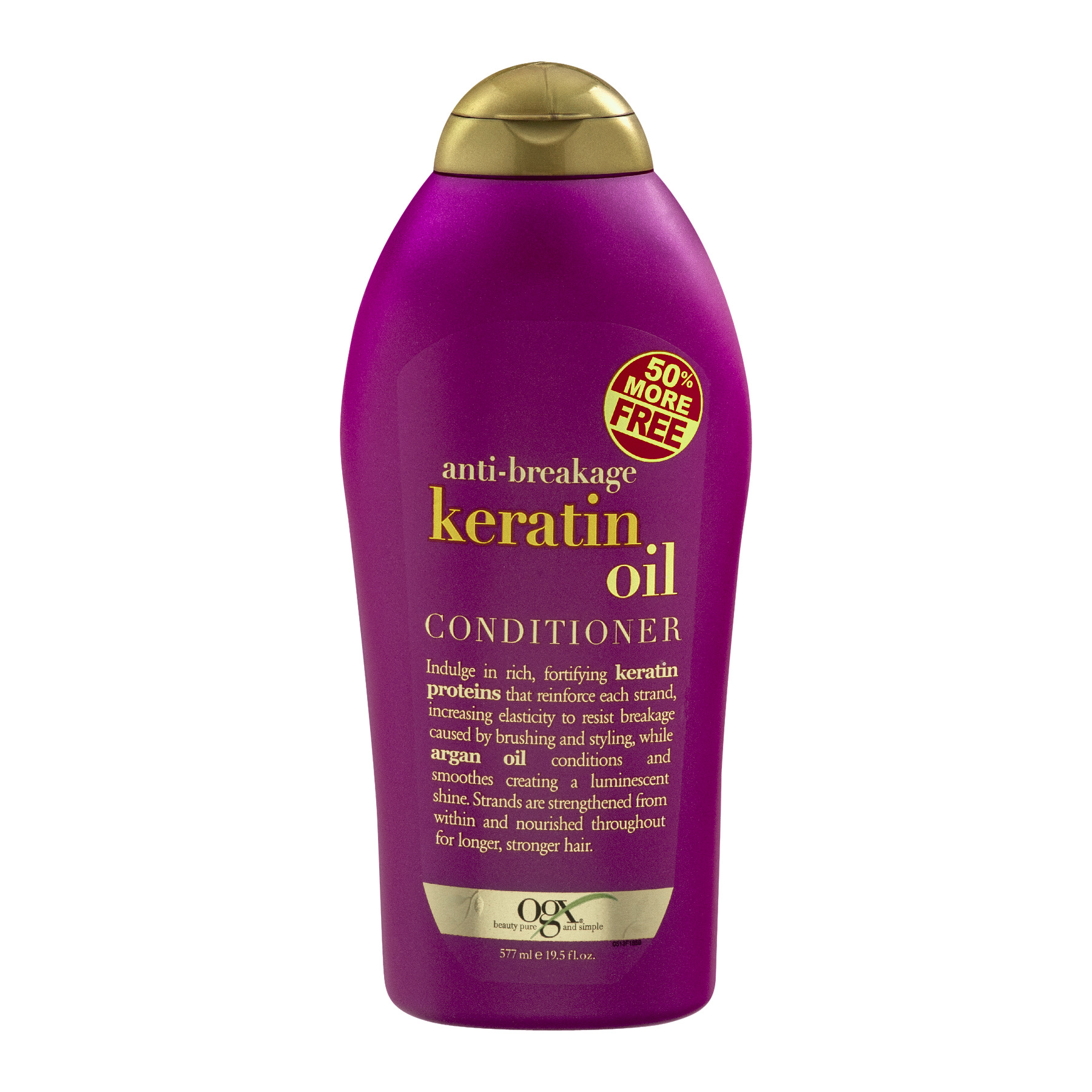 OGX Anti-Breakage Keratin Oil Conditioner, 19.5 FL OZ