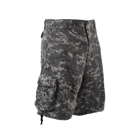 Vintage Infantry Utility Shorts, Subdued Urban Digital