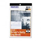 2PK Rediform Driver's Daily Log, 5 1 2 x 7 7 8, Duplicate with Carbons, 31 Sets Book by