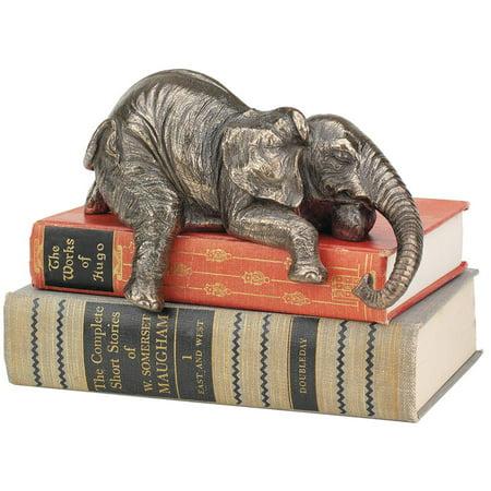 Small Elephant Design (Design Toscano Ernest the Lounging Elephant Sitting Statue)