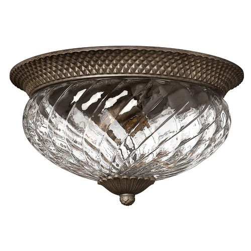 Hinkley Lighting H4881 3 Light Indoor Flush Mount Ceiling Fixture from the Plantation Collection