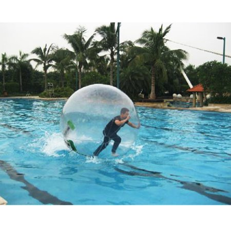 1.8M 6ft Inflatable Water Walking Zorb Ball Dance Roll PVC Tizip Zipper