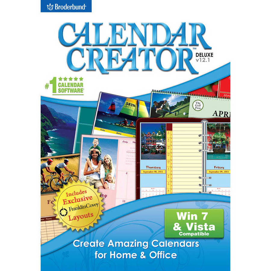 Encore Software 20057 Calendar Creator v12.1 (Digital Code)