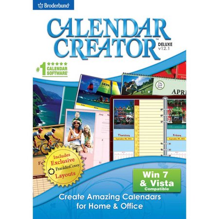 Encore Software 20057 Calendar Creator v12.1 (Digital Code) - Halloween Photo Editing Software